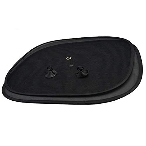 ZC 2 unids Negro Lado Coche Sol Sombras de la Ventana Trasera sombrillas Cubierta de Malla Visor Escudo Pantalla Interior protección UV