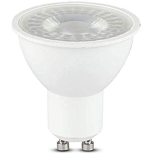 V-TAC Faretto LED Chip Samsung GU10 8W 110°, Bianco Naturale