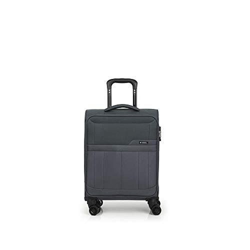 Gabol Trolley C22 Roma. Koffer 50 cm, grau (Grau) - 117722 016