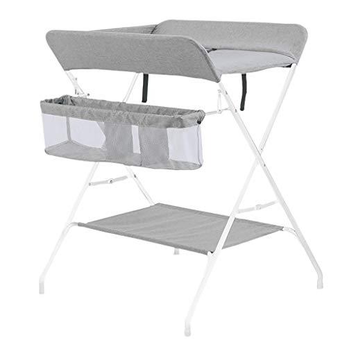 Table à Langer pour BéBé Table à Langer Multifonctionnelle Pliante Portable pour Massage à Couches Table De Toucher pour BéBé Nouveau-Né Convient à 0-3 Ans BéBé