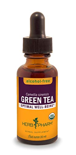 HERB PHARM Green Tea Herb Glycerite, 2 Pounds (GLGTEA01), 1 Fl Oz (Pack of 1)