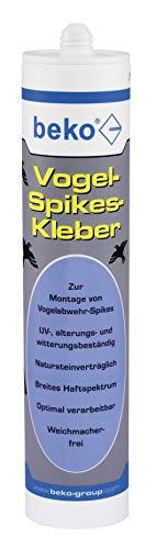 BEKO 24231001 Vogel-Spikes-Kleber 310 ml transparent