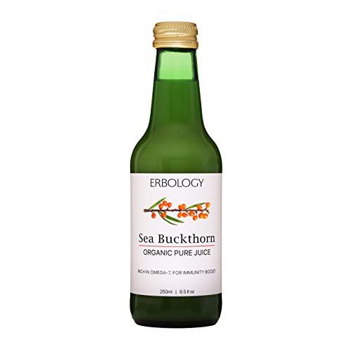 Bio Duindoornsap 250ml - Immuniteitsversterker - Rijk aan Omega-7 en vitamine C