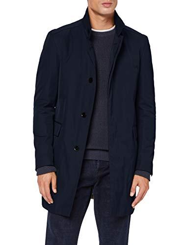 Strellson Premium Mayfair Cappotto di Lana, Dark Blue 401, 46 Uomo