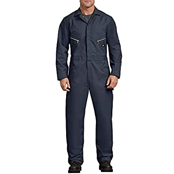 Dickies Men s Long Sleeve Deluxe Coverall Dark Navy Extra Large-Tall