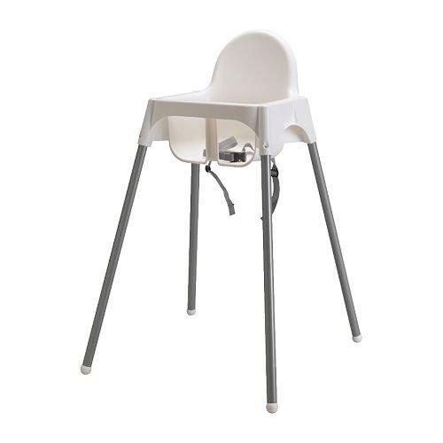 ★アンティロープ / ANTILOP ハイチェア 安全ベルト付 / ホワイト[イケア]IKEA(40157918)