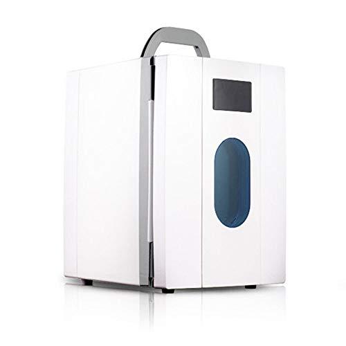PDFF Mini Nevera Electrica, Refrigerador De Bebidas Portátil, Congelador Pequeño Frío Y...