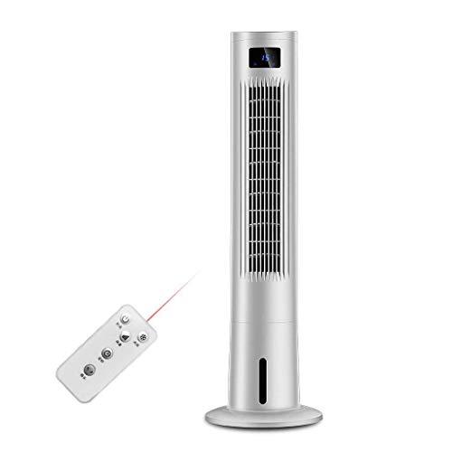 XPfj 4 en 1 Ventilador de Torre oscilante Tranquilo con refrigerador y humidificador evaporativo, Ajuste de 3 velocidades, Control Remoto, Temporizador de 12 Horas-Blanco Enfriadores evaporativos