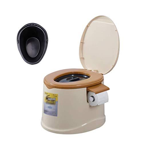 Pratico Comodo WC da Campeggio WC Portatile, Sedile WC per Escursioni con Porta Carta igienica, Canottaggio, WC da Campeggio Mobile, Pesante 200 kg (Colore: Viola) Facile da Usare