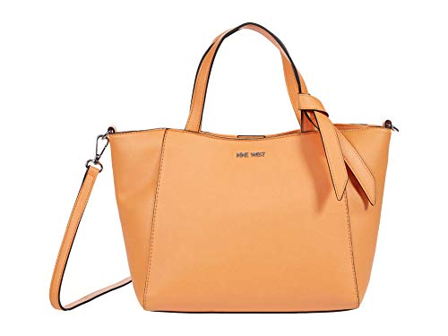 Nine West Lexie Small Trap Tote Apricot One Size