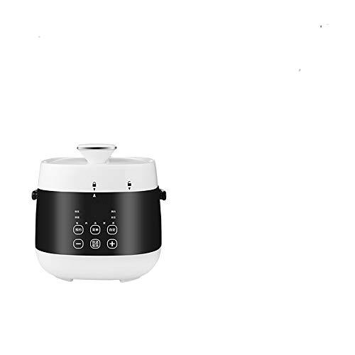 N / C Petit autocuiseur électrique Intelligent, Petite capacité, revêtement en Acier Inoxydable 304, Cuisson à la Vapeur et mijotage dans Une marmite,