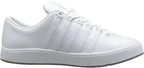 DP1 K-Swiss The Classic II Herren Leder Sneaker Schuhe Low Weiß 44