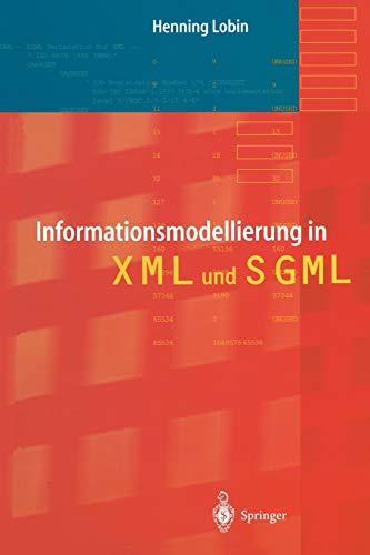Informationsmodellierung in Xml Und Sgl