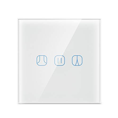 Rolladenschalter, Maxcio WiFi Blinds Smart Shutter Switch kompatibel mit Alexa und Google Home Fernbedienung und Timing-Funktion für Vorhänge/Rollladen/Motortüren