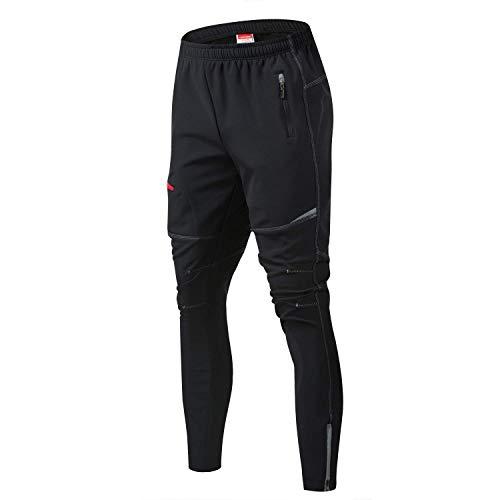 JOGVELO MTB Pantaloni Uomo, Pantaloni Lunghi Uomo Invernali Termici Impermeabili da Ciclismo XL