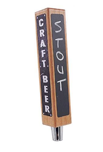 Beer Tap Handle Kit with Chalkboard and Dry Erase. DIY Kegerator Tap Handle