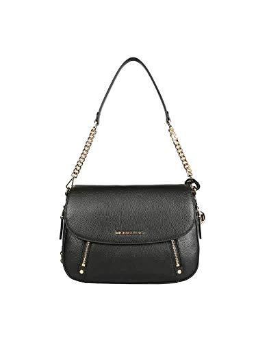 Michael Kors Bedford Legacy Ladies Medium Black Leather Shoulder Bag 30F9G06L2L 001