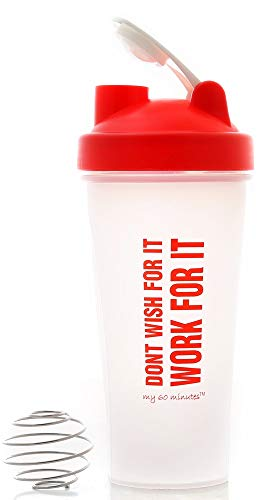 My 60 Minutes Shaker Bottles for Protein Shake Mixing Protein Water Bottle (MM-S3-801)