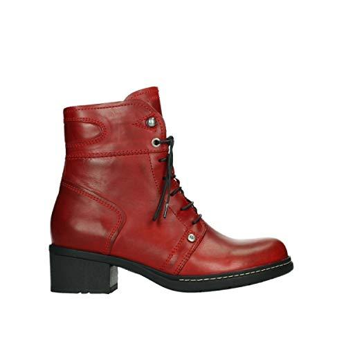 Wolky Comfort Stiefeletten Red Deer - 30505 dunkelrot Leder - 40