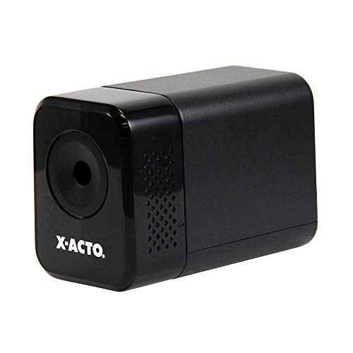 X-ACTO Electric Pencil Sharpener | XLR Heavy Duty Electric Pencil Sharpener, Quiet Motor, Pencil Saver Technology, Auto-Reset and Safe Start