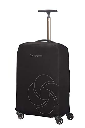 Samsonite Global Travel Accessories Foldable Luggage Cover S, Black
