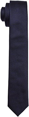 Strellson 11 Tie_6.0 10000393 Cravate, Bleu marin (410), taille unique Homme