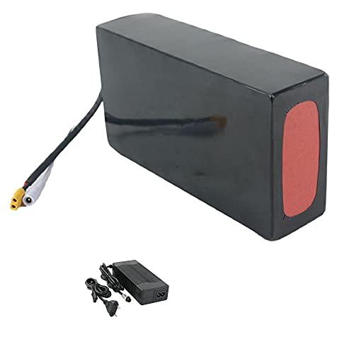 18650 batería de ebike 24V / 36V / 48V / 52V, batería eléctrica de Motocicleta eléctrica de Scooter eléctrica, batería de Litio con Cargador y BMS, Adecuado para un Motor de 50-1500W