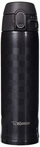 Zojirushi Stainless Steel Vacuum Insulated Mug, 16-Ounce, Ichimatsu Black