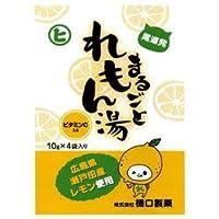 樋口製菓 まるごとれもん湯 10g×4袋×20個入×(2ケース)