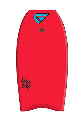 Flood Streak 42 Memphis - Bodyboard, Color Rojo y Azul