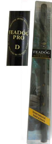 4. Feadog Pro Tin Whistle in Black