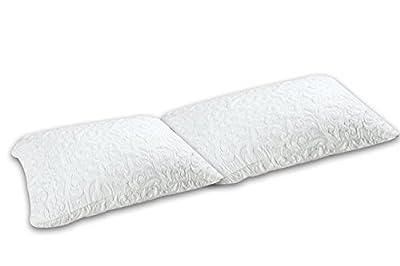 DynastyMattress Two Gel Memory Foam Pillows