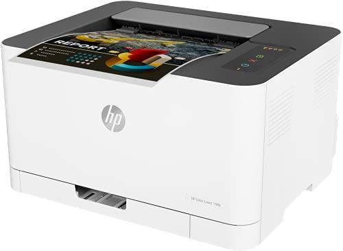 HP Color Laser 150a 4ZB94A, Impresora Láser Monofunción, Impresión a Doble Cara Manual, Puerto Hi-Speed USB 2.0, Panel de Control LED, Blanca
