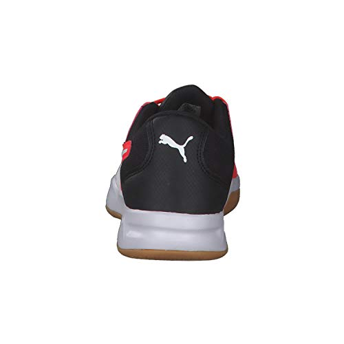 PUMA Auriz XT Jr Unisex Children's Indoor Shoes Football Shoes Sports Shoes Red Blast Red Size: 6 UK