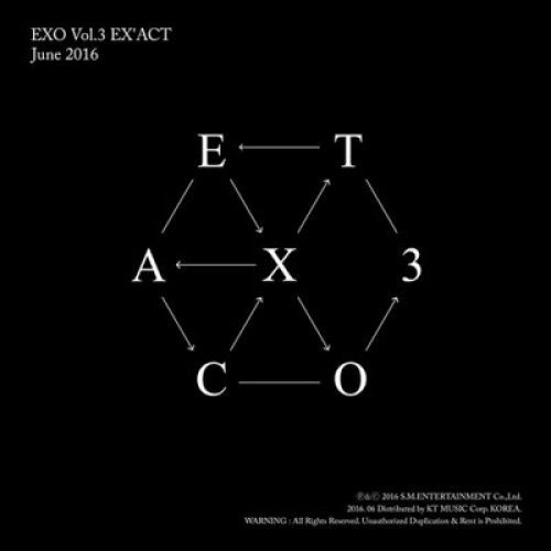 EXO - [EX'ACT] 3rd Album CHINESE MONSTER Ver. CD+124p Photo Book+1p Photo Card+extra Photocards set K-POP Sealed