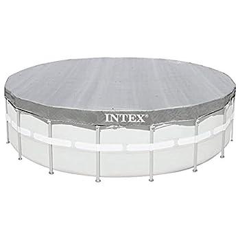Intex 68028041 Bâche Adulte Unisexe, Gris, cm