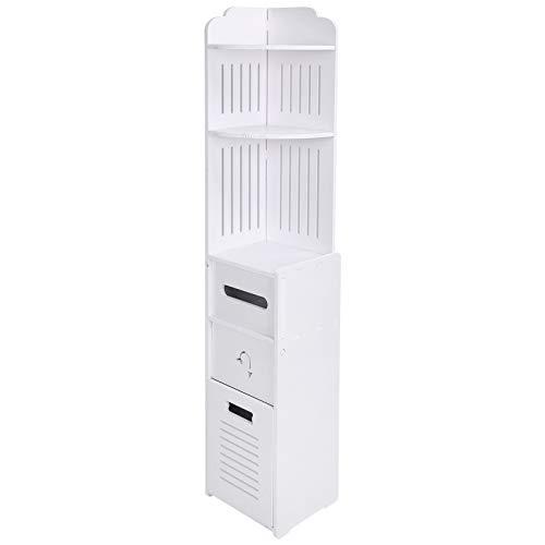 Gabinete de piso a prueba de humedad, gabinete, para baño, para pasillo, para cocina, para almacenamiento en el dormitorio