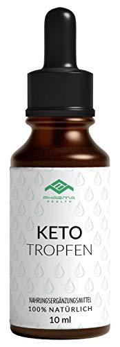 Keto Tropfen | Burn | Ketose | Stoffwechsel | Vegan | schnell | 10 ml (1x)
