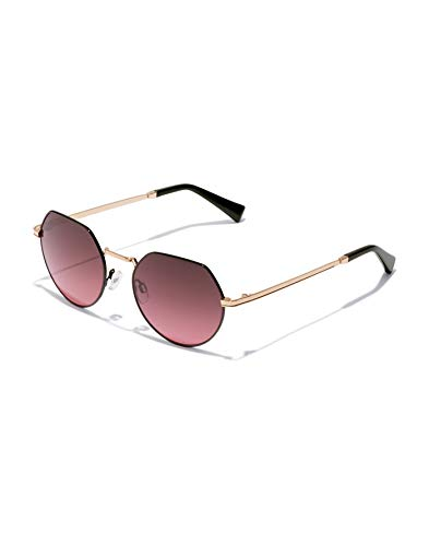 HAWKERS Aura Sunglasses, negro, One Size Unisex-Adult