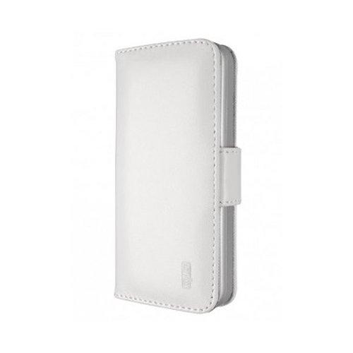 Artwizz SeeJacket Leather Handyhülle designed für [iPhone 6, iPhone 6S] - Schutzhülle zum Aufklappen aus Leder mit Magnetverschluss - Weiß