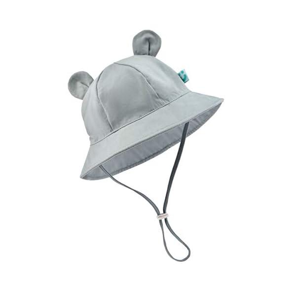 Baby Sun Hat – Infant Kids Boy Girl UPF 50+ Breathable Summer Sun Protection Bucket Hats
