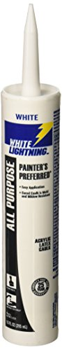 White Lightning Products 30010 Acrylic Latex Caulk