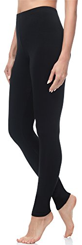 Merry Style Mallas Largas Leggins Mujer MS10-263 Negro