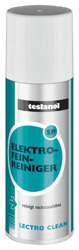 Teslanol 26018 Elektro-Mechanik-Reiniger zur präzisen Reinigung von elektrischen Kontakten - 400 ml