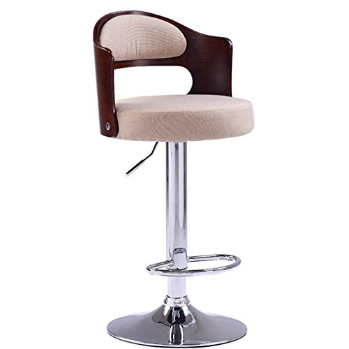 C-J-X STOOL/CHAIR C-J-Xin balkon lounge stoel, hoofd- restaurant hoge kruk kunstleer zitting kan hoogte draaibare winkel-kop kruk instellen decoratieve kruk