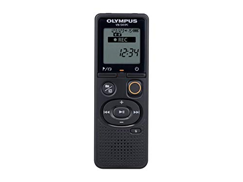 Olympus VN-541PC Registratore Vocale, Nero