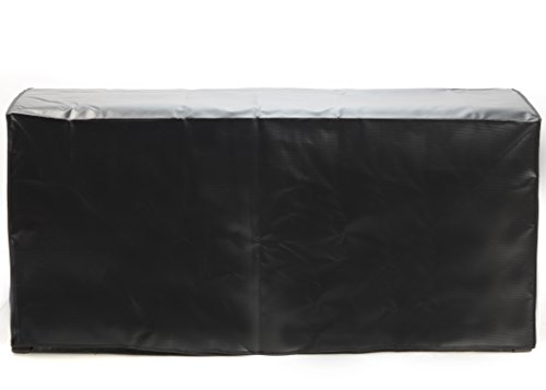 Quality Choices Protective Cover for Suncast DBW9200 Mocha Wicker Resin Deck Box (Black)