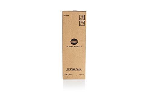 Konica Minolta Kopierer Toner schwarz MT502B für di 450/550–Laser Toner & Druckerpatronen (schwarz, Laser)