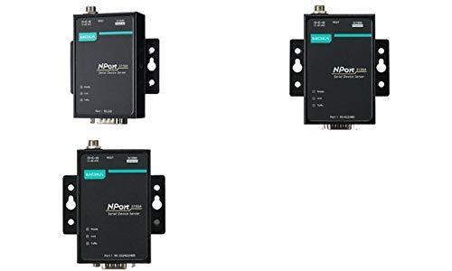Moxa NPort 5110A - Serien-Server (12-48 V, SNMP v1, ICMP, IP, TCP, UDP, DHCP, BOOTP, Telnet, DNS,HTTP, SMTP, IGMP v1/2, 52 x 80 x 22 mm, 340 g, 0-60 °C)