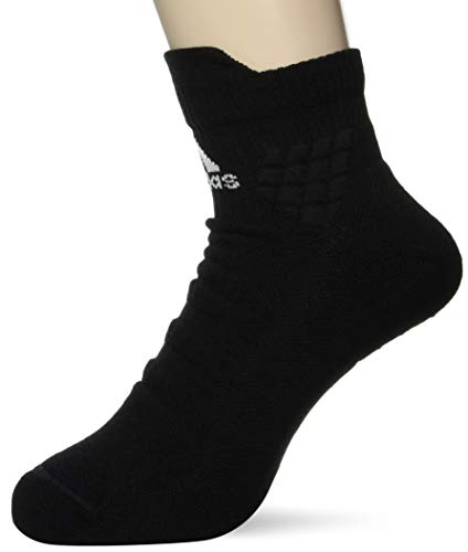 adidas Ask Ankle MC Calcetines, Unisex Adulto, Black/White/Black, M
